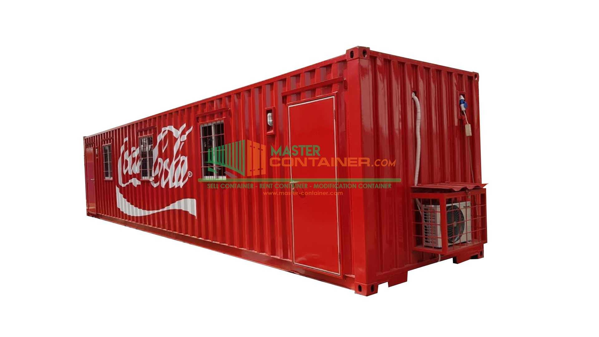 Coca Cola Office Container 40ft
