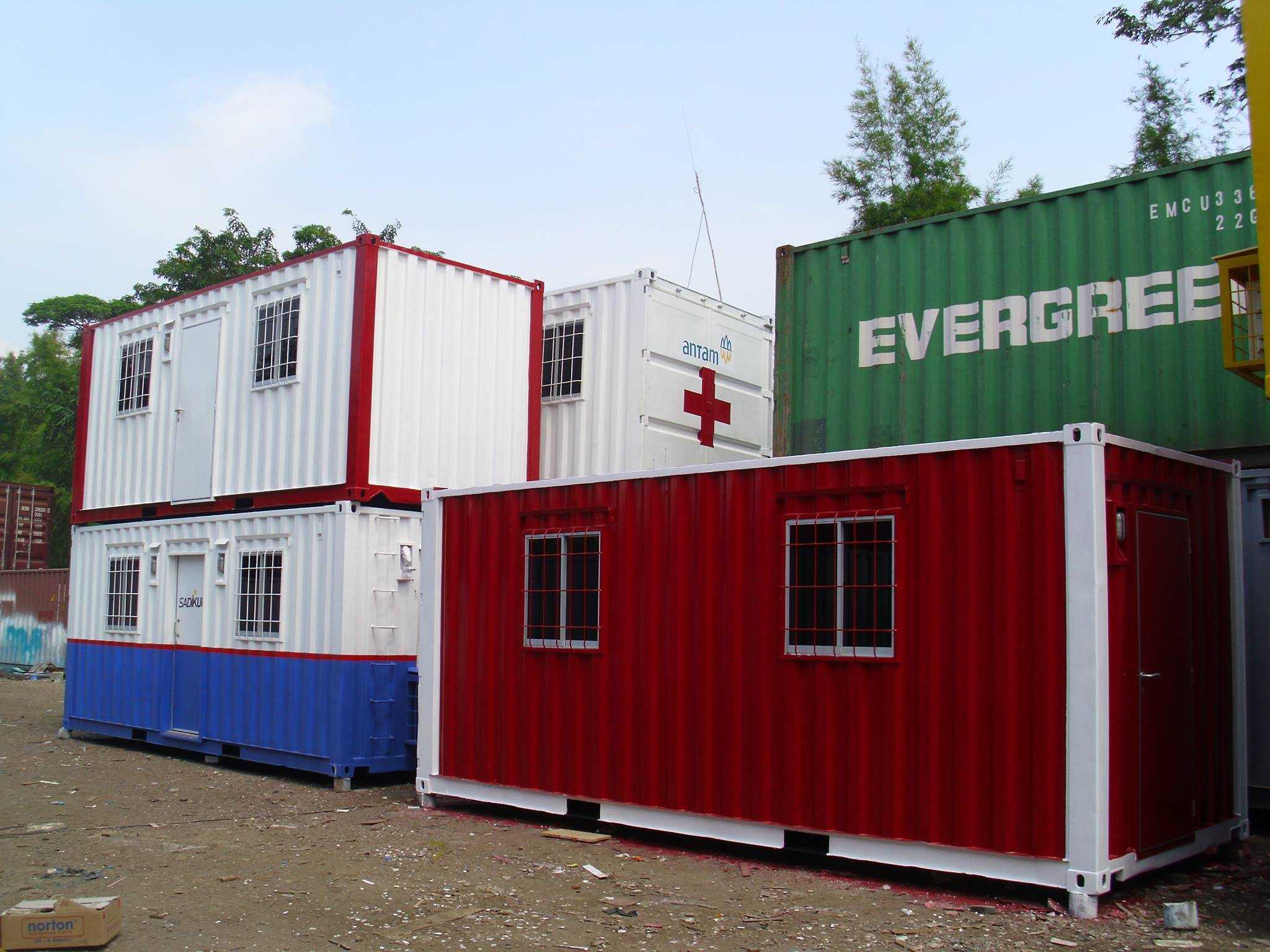 Harga Portacamp Container