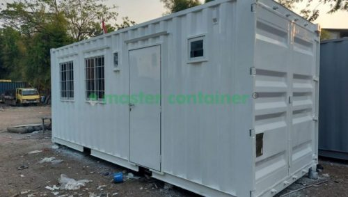 Office Container with Toilet 20ft Side